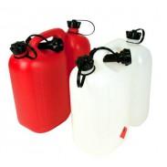Kanistry na paliwo jedno i dwukomorowe, plastikowe, metalowe marki Nev