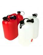 Kanistry metalowe i plastikowe do mieszanki paliwowej